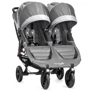 baby jogger city Mini Double gt gray