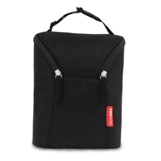 Skip Hop - Double bottle bag Black