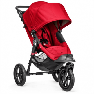 baby-jogger-jalutuskäru-city-elite-single-red