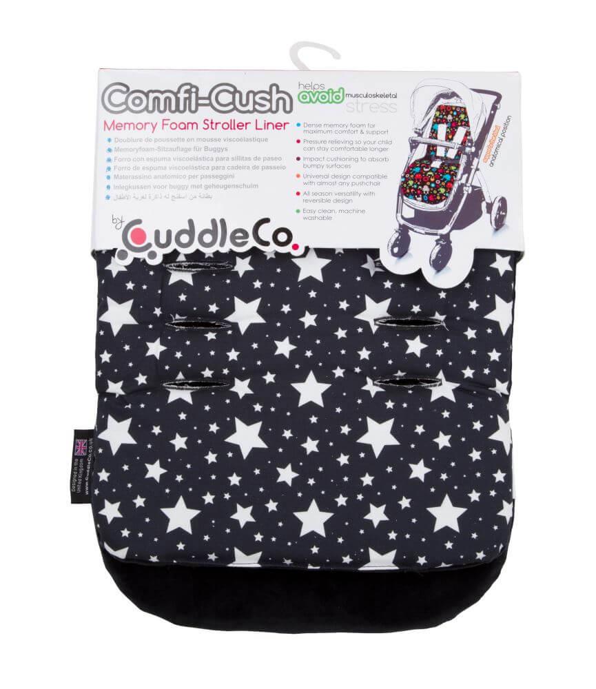 7ebcc7f3218 CuddleCo Comfi-Cush jalutuskäru istmekate tähed - Kiddsty - Beebi-ja ...